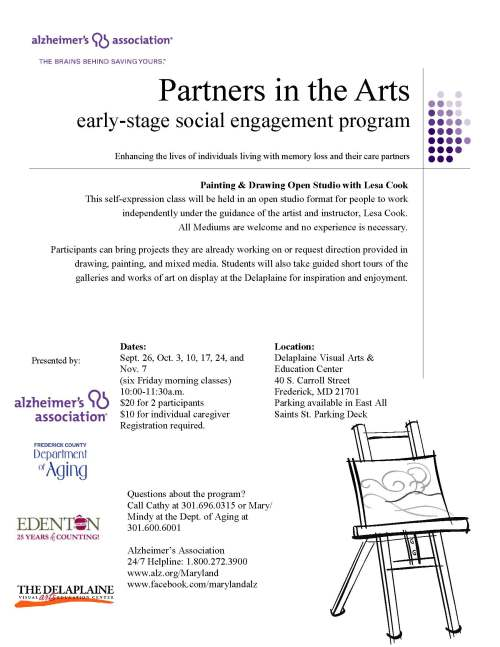 Partners in the Arts-Frederick Fall 2014_Page_1