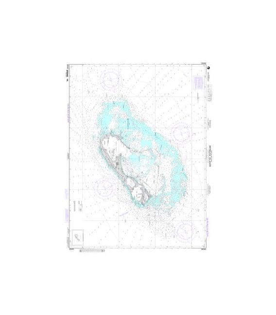 NGA Chart (formerly NIMA DMA) 26341 Bermuda Islands $28.00