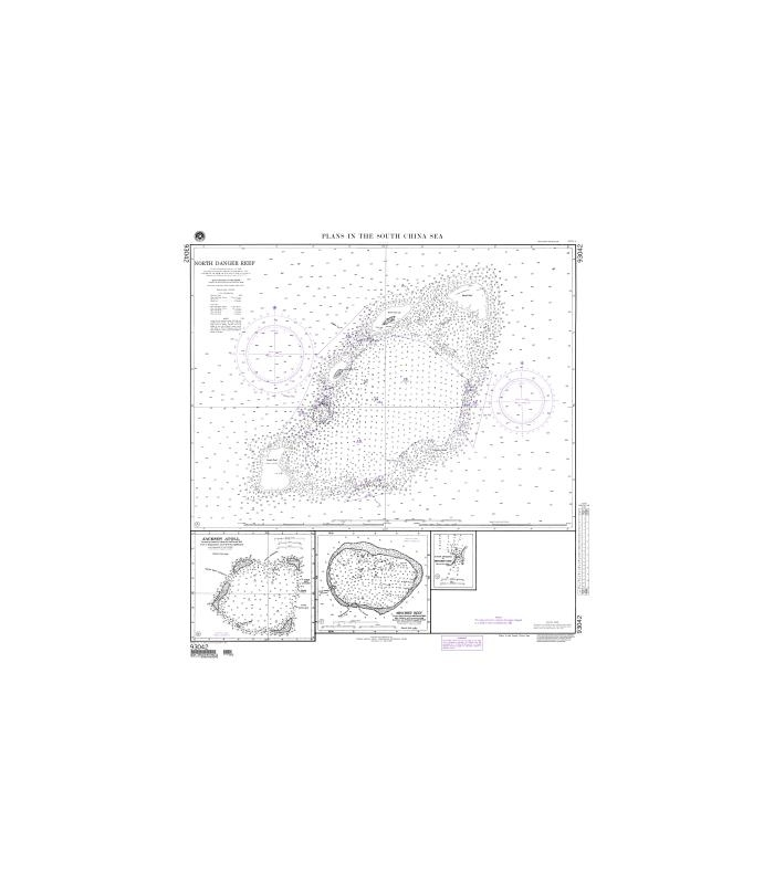 NGA Chart (formerly NIMA DMA) 93042 Plans in the South