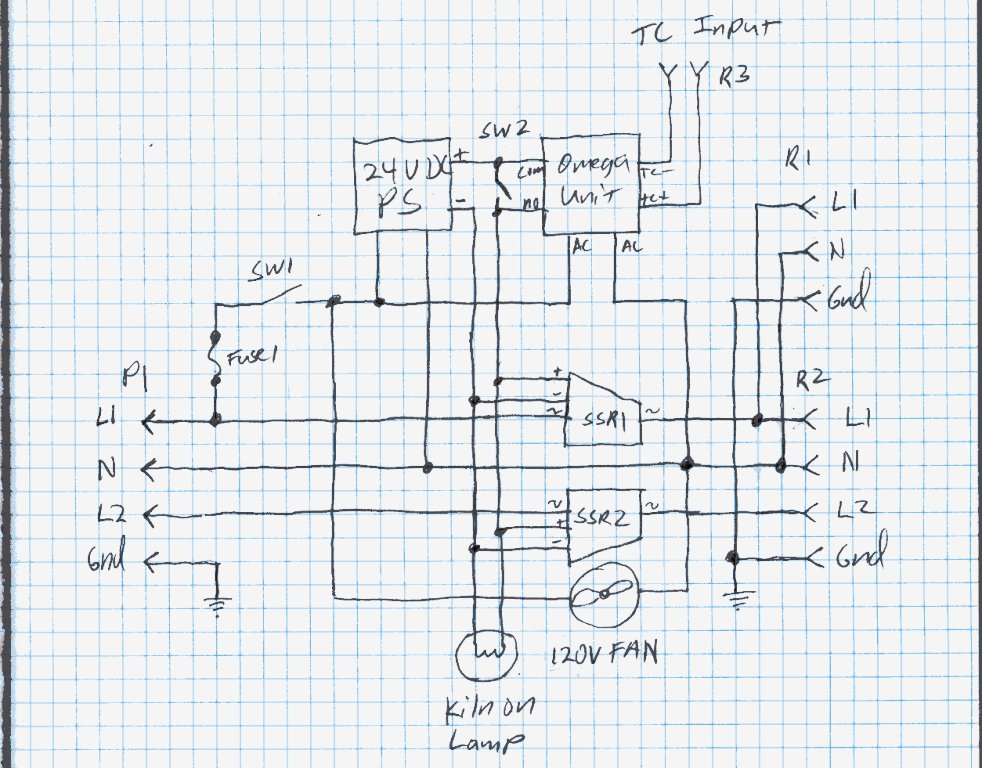 duncan kiln wiring diagram sony cdx gt57up my home made controller schematic of the