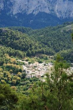 Panagia, mountain village, Thassos