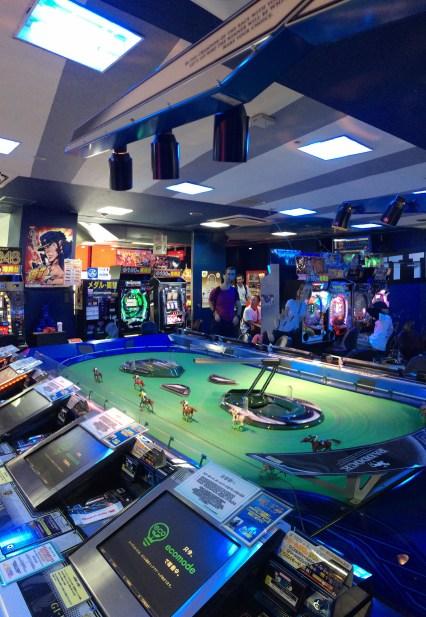 Sală de jocuri, Hiroshima, hipodrom mecano-electronic