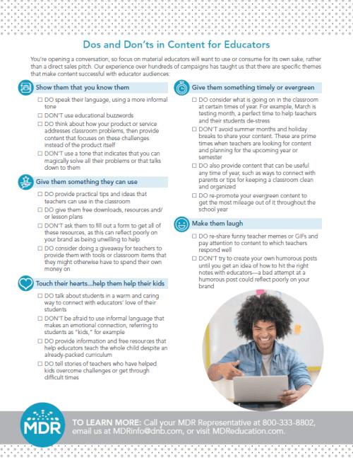 Content Marketing Best Practices checklist thumbnail