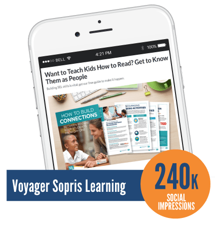 Voyager Sopris Learning Social Impressions screenshot