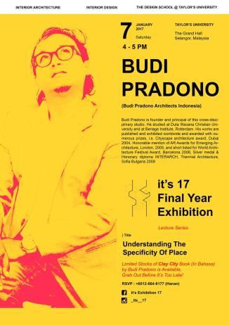 public-lecture-taylors-university-budi-pradono