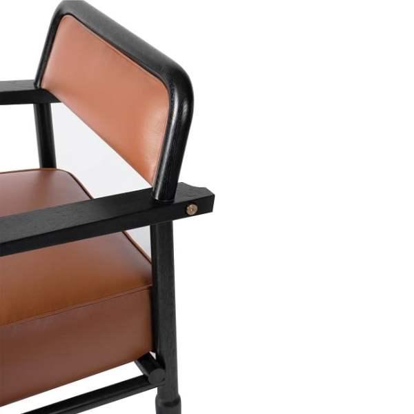 Ghế bành khung gỗ tự nhiên 6