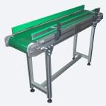 Bariyerli Sigma Profilli PVC Bantlı Konveyör
