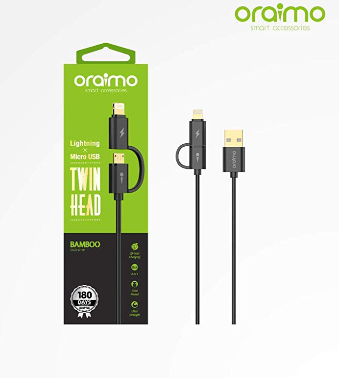 Oraimo Data Cable OCD-D101 iphone+2.0