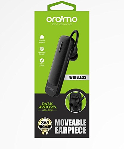 Oraimo Black OEB-E31S Wireless Bluetooth