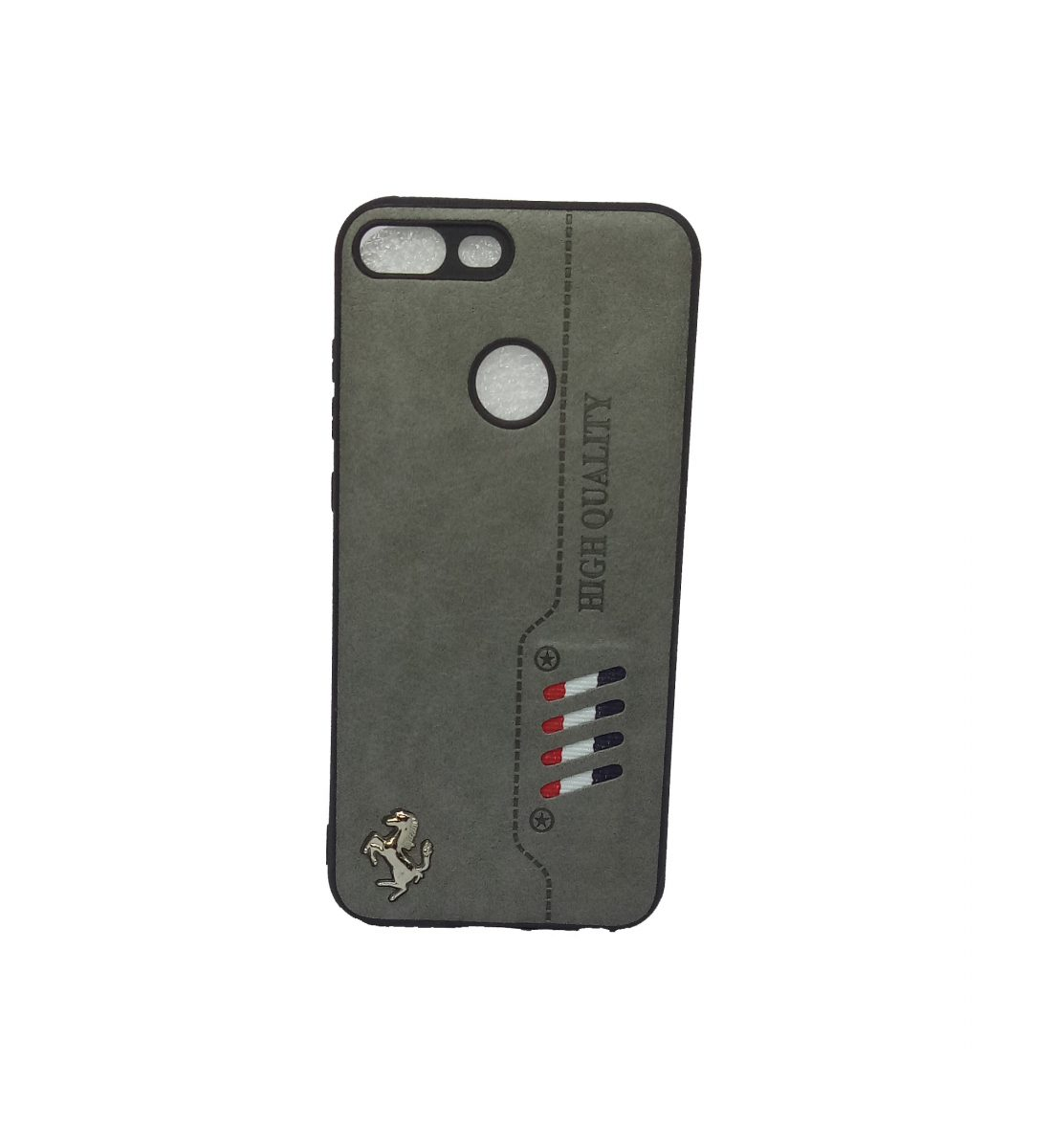 free shipping b6381 aab64 Honor 9N Leather back cover
