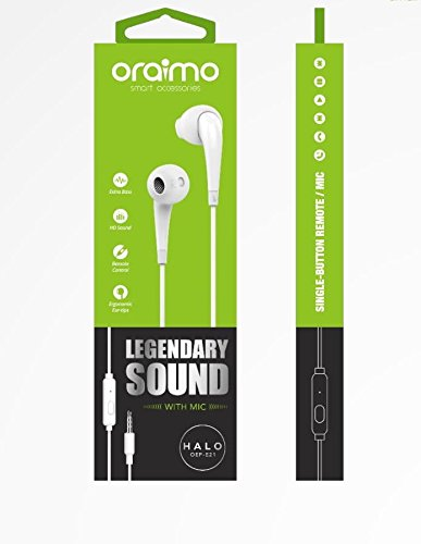 Oraimo Earphone OEP-E21 White