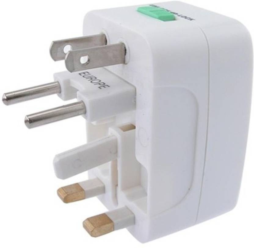 Universal Long Travel Adapter (AU EU UK US) International Good Quality