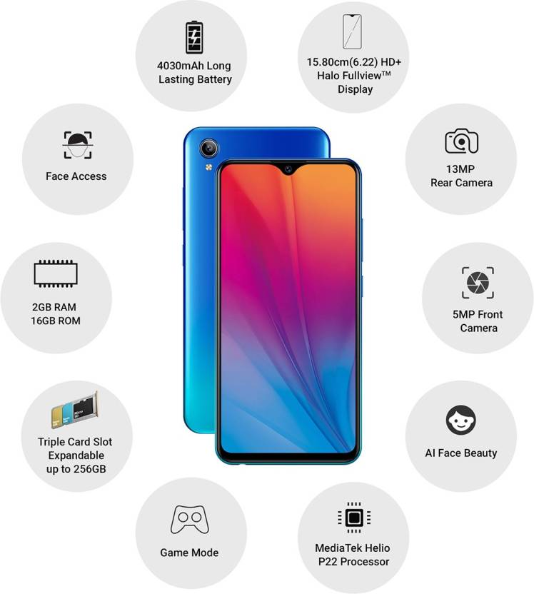 vivo y91i mobile 3gb