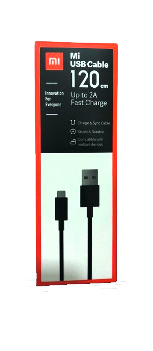 Mi USB Data Cable 120cm 2Amp Fast Charging