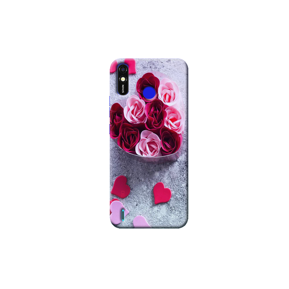 Tecno Spark Go Plus Back Cover (Rose)