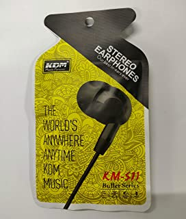 KDM KM- S11 stereo Earphone