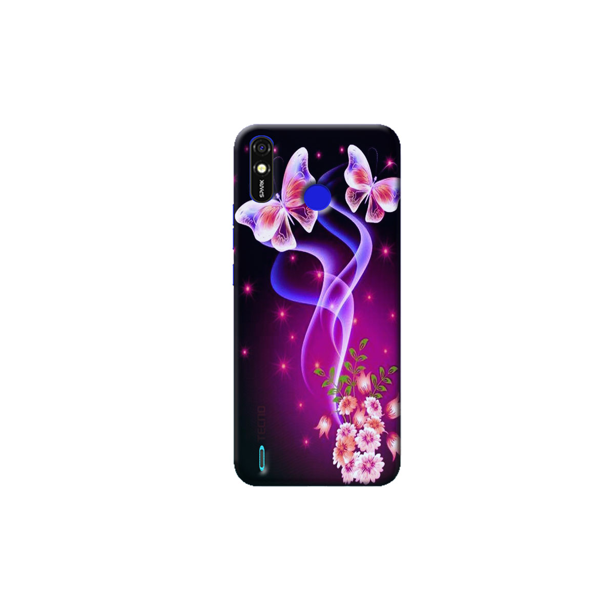 Tecno Spark go Plus Back Cover (butter fly)