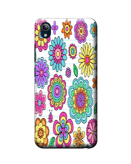 vivo Y91i Back Cover (Flower)
