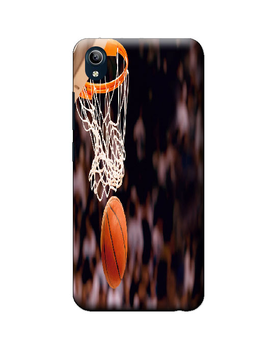 vivo Y91i Back Cover (Basket ball)