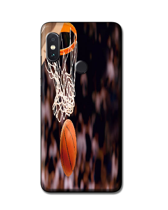 redmi note 5 pro back cover (Basket Ball)