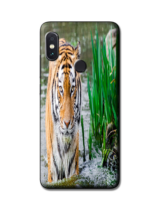 redmi note 5 pro back cover (Tiger)