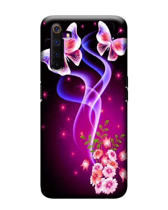 realme 6 pro mobile cover (butterflys)