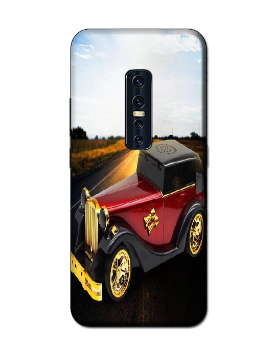 vivo v17pro mobile cover (Vintage car)