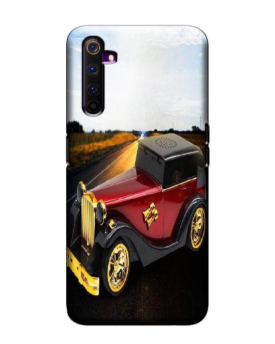 realme 6 pro mobile cover (Car)