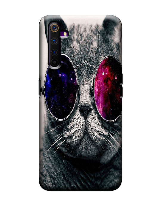 realme 6 pro mobile cover (Cat)