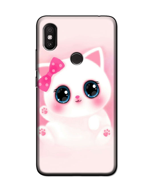 redmi y2 back cover (Cute cat)