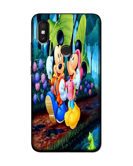 redmi y2 back cover (mickey mini)