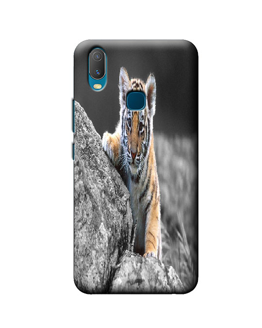 vivo y11 mobile cover (tiger)