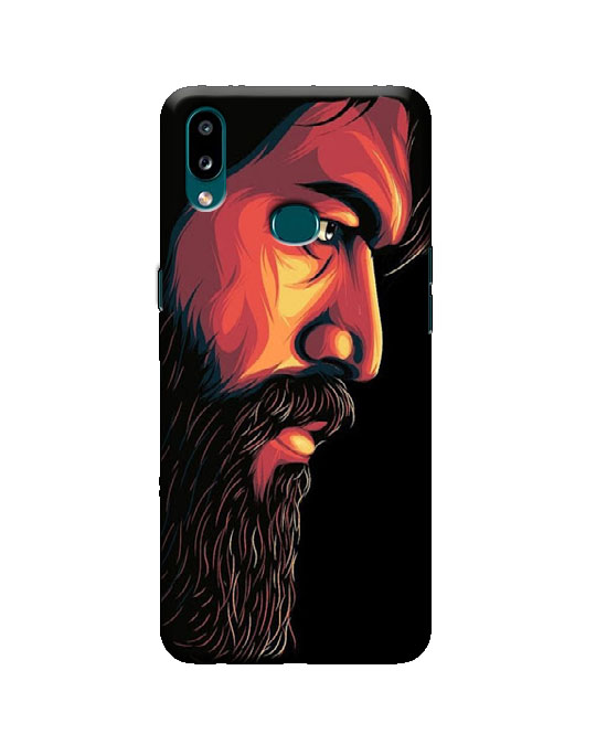 samsung A10s phone cover (beard)