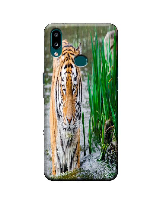 samsung A10s phone cover (tiger)