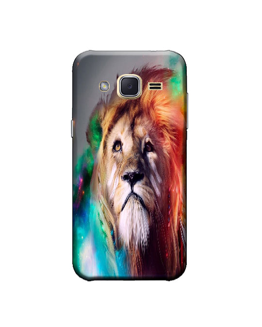 samsung j2 ka cover (Lion)