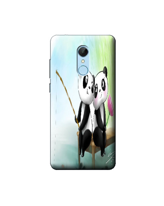 Redmi 5 Mobile Back cover (panda)