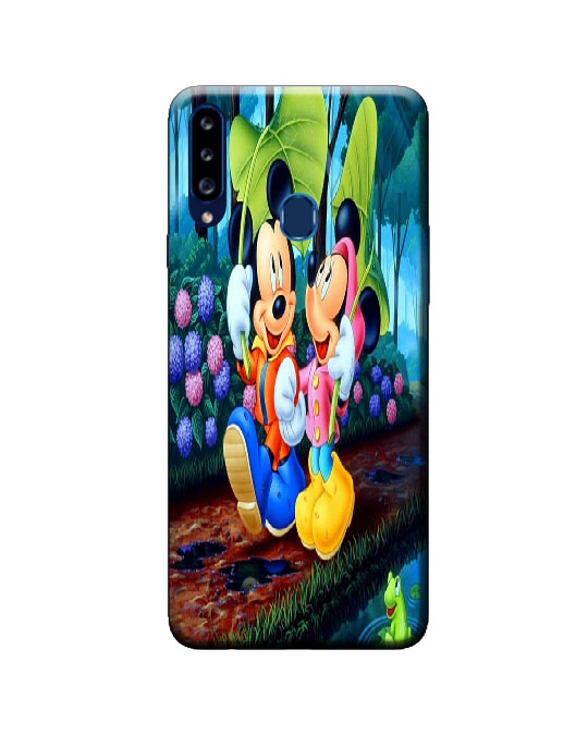 A20s samsung back cover (mickey mini)