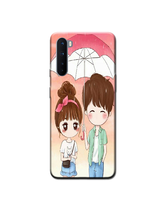 oneplus Nord Mobile Back cover (couple)