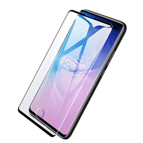 Samsung S10 plus Temperd Screen protector Glass with fingerprint cut
