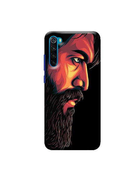 Redmi Note 8 Mobile back case (Beard )