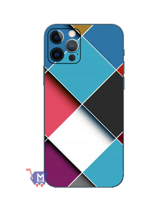 Colour Box Mobile Back skin (Wrap)
