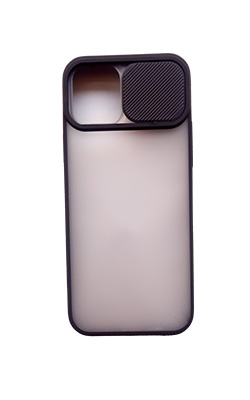 camera protection back cover for iphone 12 (Black)