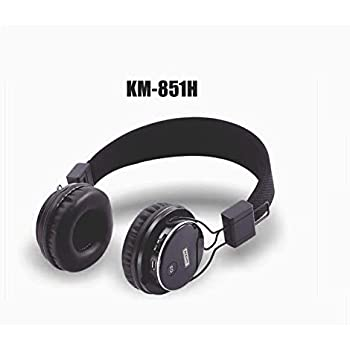 KDM Wireless headphones bluetooth 851H (Red)