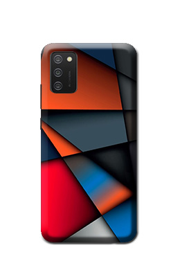 Samsung Mobile M02s Back cover (Colours box)