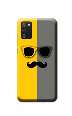 Hipster samsung galaxy Mobile M02s back cover