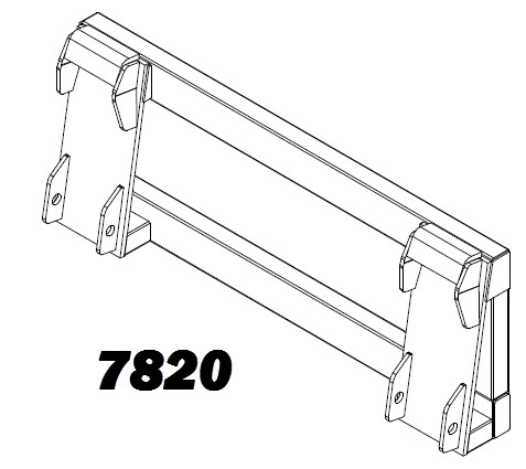Mounting Brackets and Plates for Tractors and Loaders