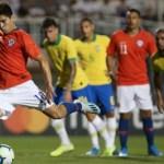 """""""La Roja"""" sub23 le hizo partido a Brasil y casi terminó a los golpes"""