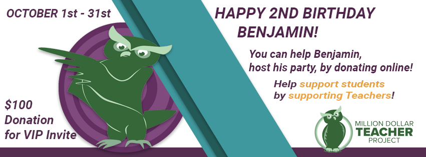 benjamins 2nd birthday is already here and you all know that a new year comes with new challenges and opportunities for growth benjamin the owl has left