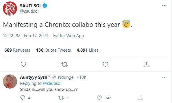 Sauti Sol Set To Drop A Collabo With Chronixx
