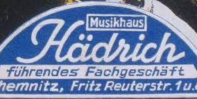 Musikhaus Fritz Hädrich